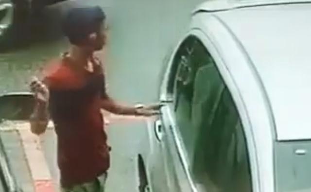 Từ Nam Định mò sang Hải Phòng rình trộm đồ trên ô tô